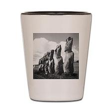 Easter Island Insanity Shot Glass