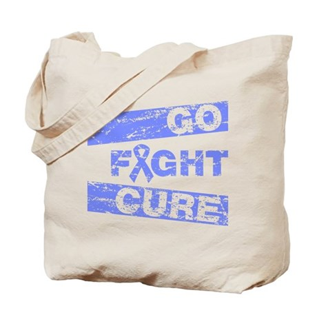 Intestinal Cancer Go Fight Cure Tote Bag
