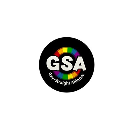 GSA ToonA Black Mini Button