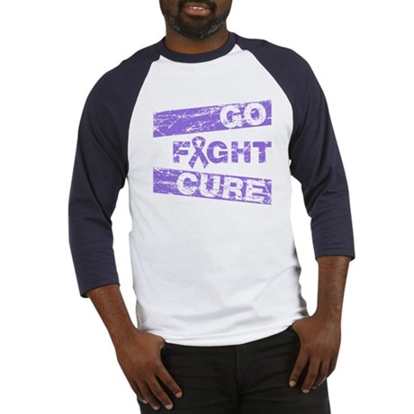 Hodgkins Lymphoma Go Fight Cure Baseball Jersey