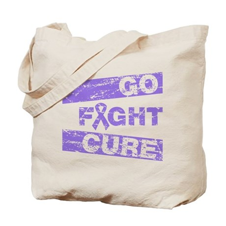 Hodgkins Lymphoma Go Fight Cure Tote Bag