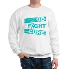Gynecologic Cancer Go Fight Cure Sweatshirt