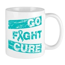Gynecologic Cancer Go Fight Cure Mug
