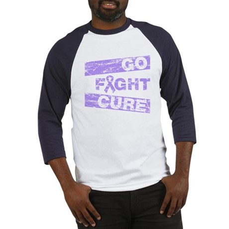 General Cancer Go Fight Cure Baseball Jersey