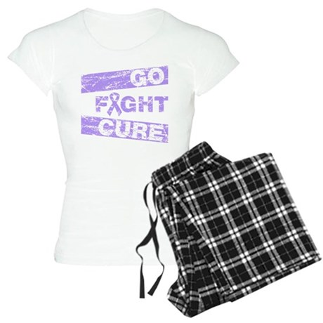 General Cancer Go Fight Cure Women's Light Pajamas