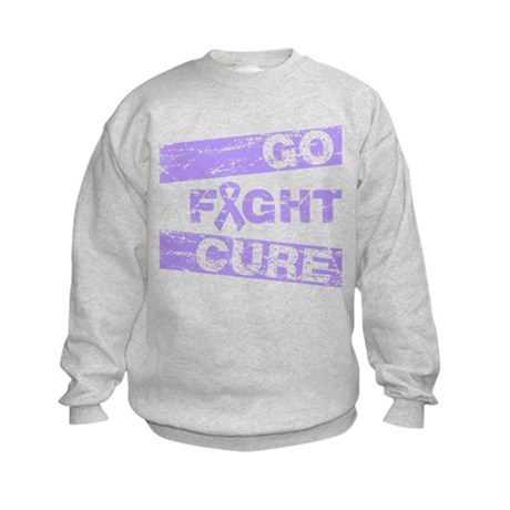 General Cancer Go Fight Cure Kids Sweatshirt