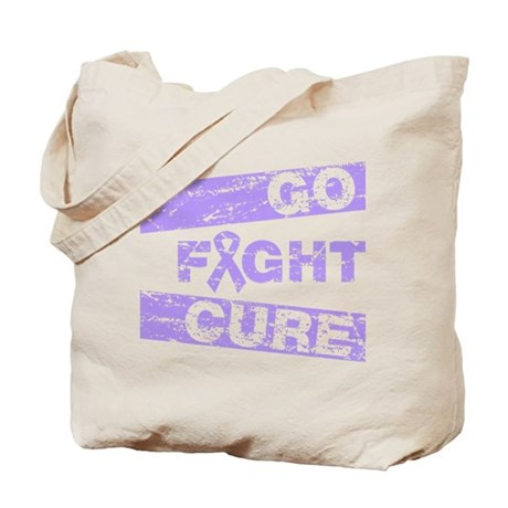 General Cancer Go Fight Cure Tote Bag