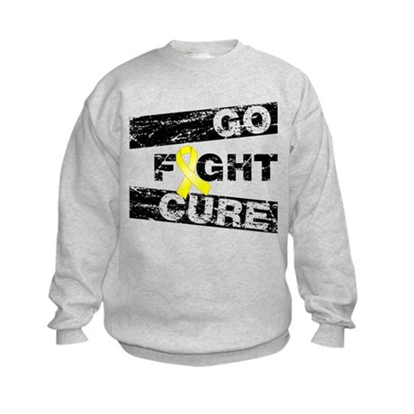 Ewings Sarcoma Go Fight Cure Kids Sweatshirt