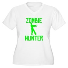 Zombie Hunter Plus Size T-Shirt