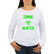 Zombie Hunter Biohazard Long Sleeve T-Shirt
