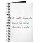Milk, Lemonade, Chocolate Journal