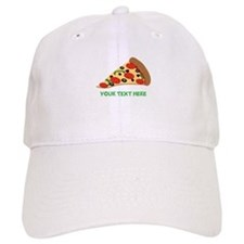 Pizza Lover Personalized Baseball Cap
