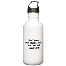 Short Attention Span Water Bottle