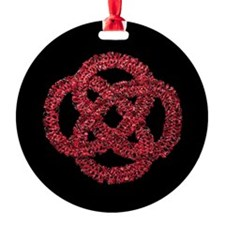 Celtic Knot - Forever Red Ornament