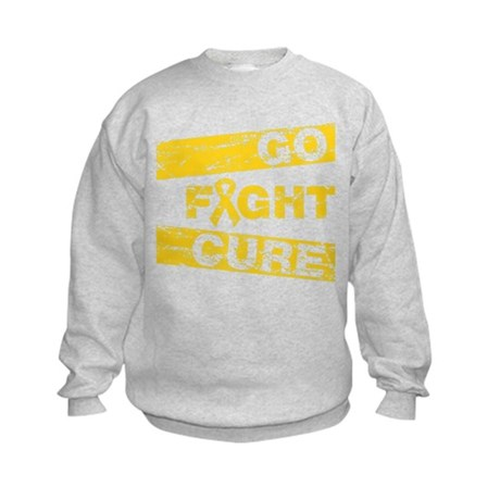 Childhood Cancer Go Fight Cure Kids Sweatshirt