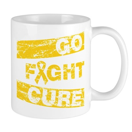 Childhood Cancer Go Fight Cure Mug