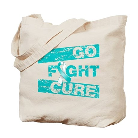 Cervical Cancer Go Fight Cure Tote Bag