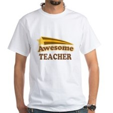 Personalized Awesome Teacher Gift T-Shirt