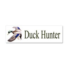 Duck Hunter Car Magnet 10 x 3