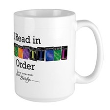 I Read in Alphabetical Order Mugs