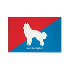 Shepherd Diagonal Rectangle Magnet (100 pack)