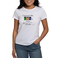 I Learned My ABCs T-Shirt