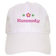 "Pink Daisy - ""Kennedy"" Baseball Cap"