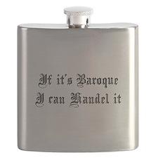 Baroque Pun Flask