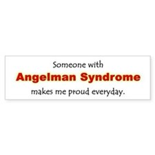 """Angelman Syndrome Pride"" Bumper Bumper Sticker"