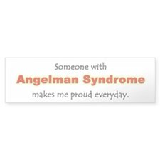 """Angelman Syndrome Pride"" Bumper Car Sticker"