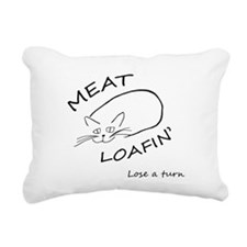 Cute Meat loaf Rectangular Canvas Pillow