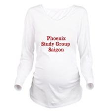 Phoenix Study Group Saigon Long Sleeve Maternity T