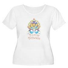 Purim Princess Plus Size T-Shirt