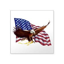American Patriotism Sticker