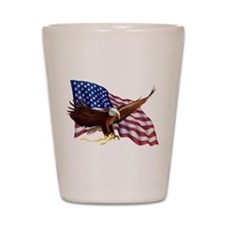 American Patriotism Shot Glass