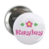 Pink Daisy - &quot;Kayley&quot; Button
