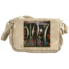 Klee - Landscape with Yellow Birds Messenger Bag