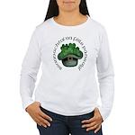 Shamrocks (Gaelic) Women's Long Sleeve T-Shirt