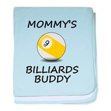 Mommys Billiards Buddy baby blanket