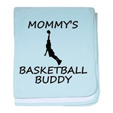 Mommys Basketball Buddy baby blanket