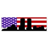 Remember 9-11 Bumper Car Sticker
