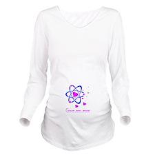 Long Sleeve Maternity T-Shirt Concue avec amour