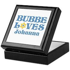 Personalized Bubbe Loves Me Star Keepsake Box