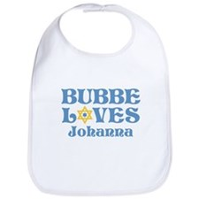 Personalized Bubbe Loves Me Star Bib