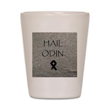 Hail Odin Shot Glass