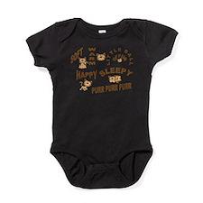 Soft Kitty Baby Bodysuit