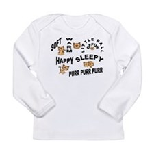 Soft Kitty Long Sleeve Infant T-Shirt