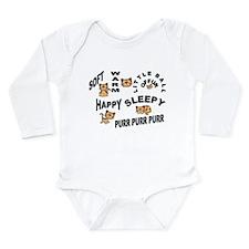 Soft Kitty Long Sleeve Infant Bodysuit