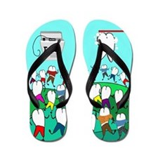 dental ff 1 Flip Flops