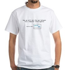 How we will win the war with AI T-Shirt